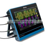 Factory price 150MHz 4 channels digital storage sscilloscope,digital oscilloscope portable with 10.1 inch touch screen