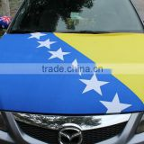 cheap custom national flag print car hood cover