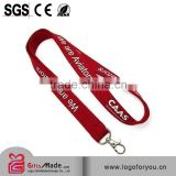 Factory wholesale Custom woven round cord lanyard