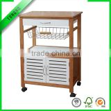 rolling kitchen serving island cart storage food wine