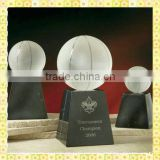 Personalized Engraved Crystal Basketball Trophy For Ceremony Souvenir Gifts