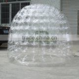 Hola small transparent inflatable dome tent/inflatable tent/inflatable air dome tent for sale