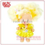 Mini wholesale plastic baby doll ovely keychain