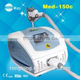 Pain Free KES-Med150 FDA Approval Portable Ipl+rf Style Beauty Equipment Ipl Salon Spa Machine With Training 640-1200nm