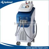 Apolo Med CE& ISO approved beauty machine e light IPL SHR hair removal professional hair removal beauty equipment