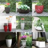hotel use luxury pot fashion pots fiberglass plants container and flowers pots floating bonsai