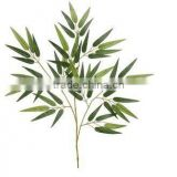 Bamboo Branch /decorative leaves/Artificial leave/Large Calla Lily Leaf Spray in Green/natural leave