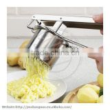 Potato Ricer Potato Chipper with 3 Replaceable discs