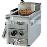 gas temeprature-controlled fat fryer (1-tank&1-basket)