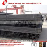 Factory Supply Q345B,S235JR,S275JR,S355J2H Black ERW Square Tube Steel with export packing