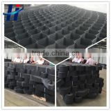 HDPE plastic geocell used in roadbed reinforcement