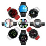 2017 new Android system wifi watch 3G Bluetooth smart watch GPS built in waterproof KW88 watch for Android for iphone