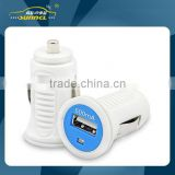 600mA USB Mini Car Power Charger Adapter Plug for Apple and Samsung Device