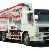 SINOTRUK HOWO Chassis 6x4 Concrete Pump Truck
