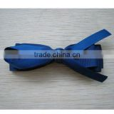 4inch stain ribbon bow/grosgrain bow