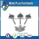 Made in Taiwan Zinc Finish Countersunk Black Oxide Domed Open Head Large Flange Stainless Steel Pop Rivet