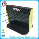 TGW brand mobile phone accessories items customized cardboard counter dipslay