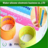silicone slap wrap wristband silicone ruler slap wristband