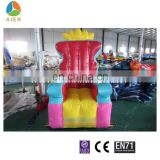 inflatable throne Chair, inflatable crown chair for kids