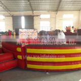inflatable rodeo bull sport game