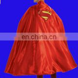 Fancy Men's Deluxe Adult Cape with Embroidered Superman Logo