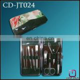 9pcs gift ladies manicure set CD-JT024