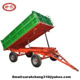 5ton 4wheel farm dump trailer for sale