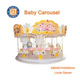Zhongshan amusement theme park equipment Merry go round 12 seat Baby Carousel good price hot sale earn money, amusement