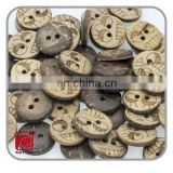 smile face logo 2 holes coconut shell button,custom made handcraft laser engraved buttons,sewing shirt button