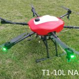 2018 Newest Design UAV 10L Capacity Agriculture Spraying Drone 10kg