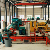 automatic casting grinding media ball molding line