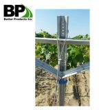 Perforated U Channel Tube for Vineyard Post