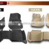 car mat 2D/3D/4D/5D right hand dive leather car mat non-skid,environmental protection,light and easy to clean
