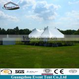 20x50m hotel steel structure fire resistant tents for green house