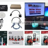 Linde Newest Full Set Truck Diagnostic Tool 2 in 1 CanBox 3903605113 and Doctor cable (With software/With New laptop)