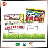2015 lightweight PP corrugated plastic sign boards