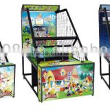 new cion operated basketball amusement game for children