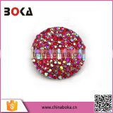 BOKA Dome Shape Alloy Rhinestone Buckles for Boots, Bags