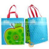 Recycled RPET bag for shopping with opp lamination