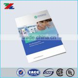High quality custom saddle stitching catalog printing, printing services, products catalog printing