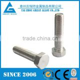 "Stainless Steel Grade 310 (UNS S31000) Hexagon Bolts 1/4"", 3/8"", 7/16"", 1/2"""