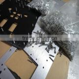Custom stamping powder coating streching aluminium sheet with stud