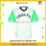 High Quality New Design Sublimated Baseball Jerseys From China Supplier