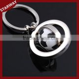 Best selling Promotional cute footballl keychain/