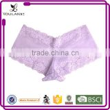 beautiful factory price lace new arrival silicone buttock padded panty