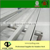 Factory direct sale,AISI 201/202 hot rolled annealed and pickled stainless steel angle bar