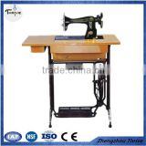 Hot sale home use treadle type sewing machine device/industrial quilting treadle lockstitch sewing machine head