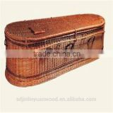 Wholesale Wicker Coffin with Good Quality ,Please feel free to Buy