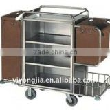 Trolley Housekeeping Carts Metal House Keeping carts Service trolley stainless steel trolley
