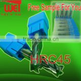 Free Sample For HRC45 and HRC55 Carbide Square End Mills